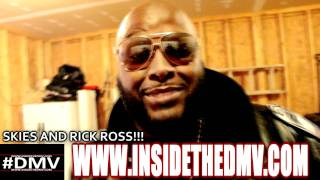 Rick Ross (Video Shoot)  interview in Martinsburg West Virginia