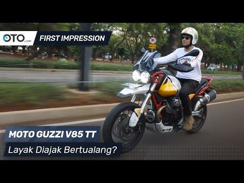 Moto Guzzi V85 TT | First Impression | Moto Guzzi Yang Berbeda | OTO.com