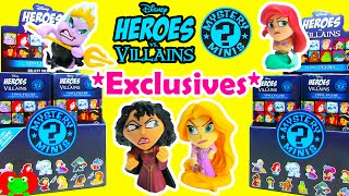 Disney Heroes vs Villains Mystery Minis Hot Topic Exclusives Rapunzel Mother Gothel