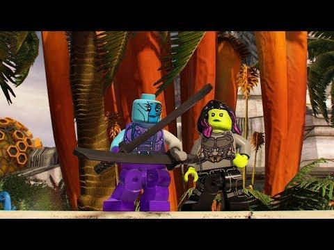 LEGO Marvel Super Heroes 2 Nebula Unlock Location + Free Roam Gameplay