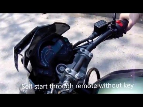 Petrox Anti-Theft Security System Alarm With Stylish Remote For All Bikes