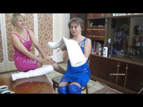 Lena & Ola – Funny Entertainment: Trying on new Boots Part II - #073