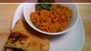 Baingan Bharta (Eggplant Curry) Recipe by Manjula