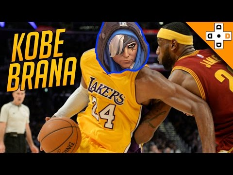 Overwatch Funny & Epic Moments 73 - KOBE BRANA - Highlights Montage