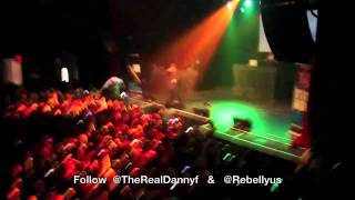 """Danny Fernandes & Belly performing """"Private Dancer"""" at Sound Academy"""