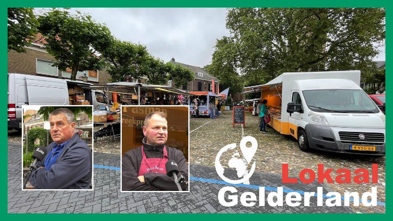 Lochemse weekmarkt wordt steeds kleiner