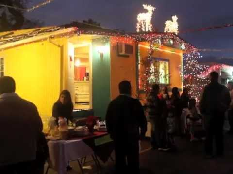 Mobile Home Park Residents Host Holiday Posada