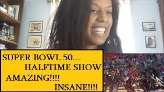 SUPER BOWL 50 Halftime Show 2016 - Coldplay, Bruno Mars & Beyoncè [REACTION]
