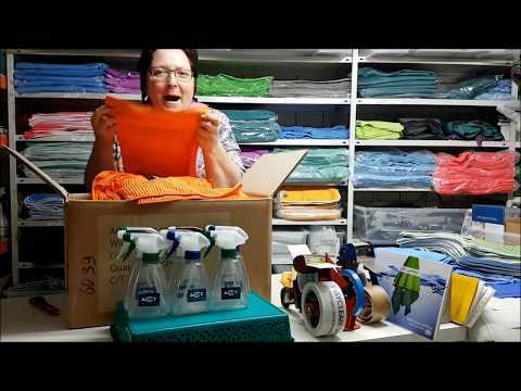 Unpacking-Video - Das Spültuch mit Kratzecke