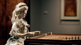 Demonstration of David Roentgen's Automaton of Queen Marie Antoinette, The Dulcimer Player