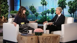 Zooey Deschanel Talks Co-Star Justin Timberlake