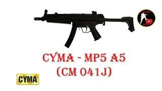 [ОБЗОР] CYMA - MP5 A5 CM 041J AEG airsoft (страйкбол)