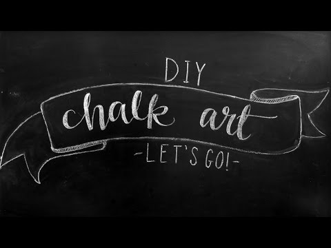 How to Faux Calligraphy + DIY Chalkboard Design Tips