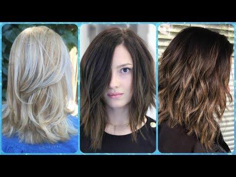 Dobrze Fryzury Włosy Do Ramion Cieniowane Kanał Mody
