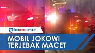 Reaksi Jokowi saat Mobil dan Rombongannya Terjebak Macet di Jalan, Perekam Video Beberkan Faktanya