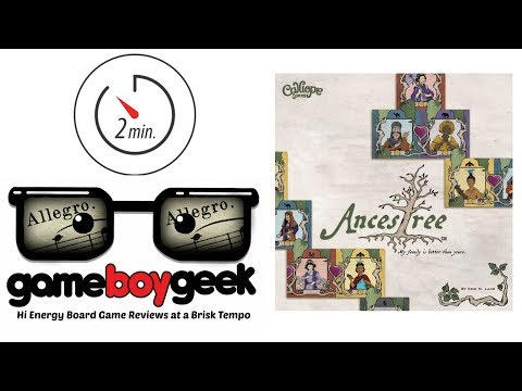 The Game Boy Geek's Allegro (2-min Review) of Ancestree