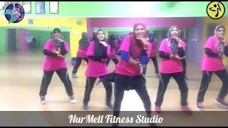 Viral Step !! Zumba Dangdut Lagi Syantik By Siti Badriah With Zin Nurul