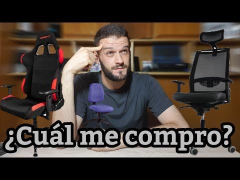 Comparativa: silla GAMING vs. silla ERGONÓMICA vs silla de oficina [.Info]