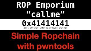 pwntools rop chain - Thủ thuật máy tính - Chia sẽ kinh