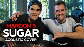 Maroon 5 - Sugar - Acoustic Cover By @JamesMaslow