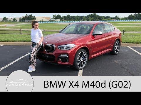 2018 BMW X4 M40d (G02) Fahrbericht / Die unerwartete Sportskanone - Autophorie