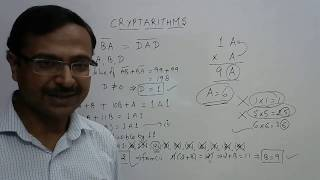 How to Find Unknown Digits (CRYPTARITHMS)
