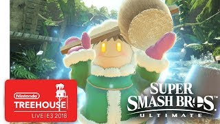 Super Smash Bros. Ultimate Gameplay Pt. 5 - Nintendo Treehouse: Live | E3 2018