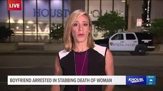 Boyfriend arrested in stabbing death of woman