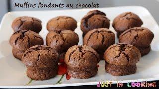 Recette De Muffins Fondants Au Chocolat