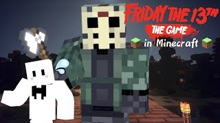 大ピンチで叫び狂う!!ぴくとさんがマイクラ版13日の金曜日に参戦!!Part2- Friday The 13th The Game In Minecraft #9[ミナミノツドイ]