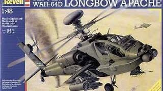 Revell 1:48 AH-64D Longbow Apache Unboxing Review