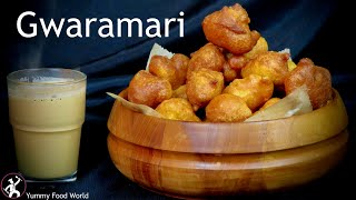 Gwaramari Newari Food Recipe | Street food of Kathmandu | Typical Nepali Breakfast Yummy Food World