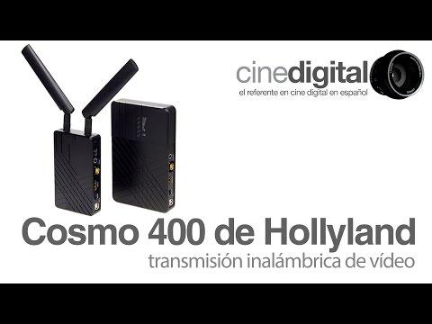 Cosmo 400 de Hollyland, transmisión inalámbrica para equipo profesional de vídeo