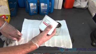 Engine Oil Change and Filter Ford Mustang