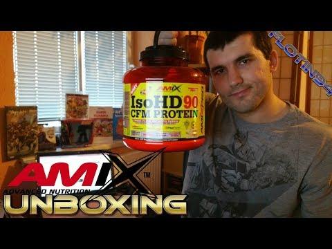 Amix Pro IsoHD 90 CFM protein UNBOXING + OCHUTNÁVKA | FloTin
