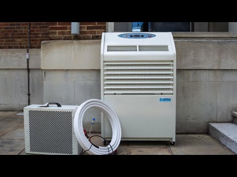 How to install a PAC 22 and other split type portable air conditioners