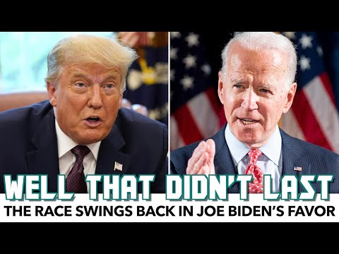 The Race Swings Back In Joe Biden's Favor