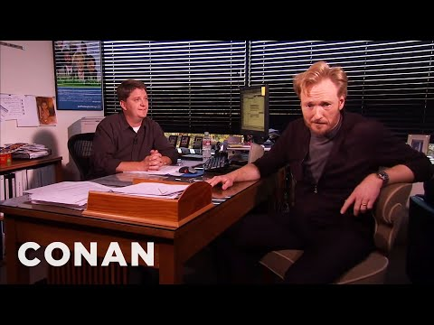 Conan Meets His Censor  - CONAN on TBS (видео)