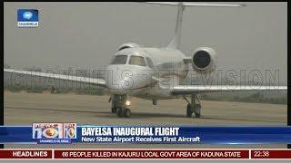 New Bayelsa State Airport Receives Inaugural Flight