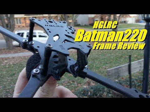 HGLRC Batman220 Frame Review from Banggood