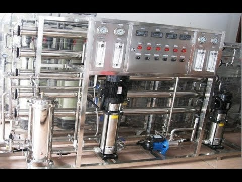 Reverse Osmosis water purification treating system RO water purifier equipment industrial factory