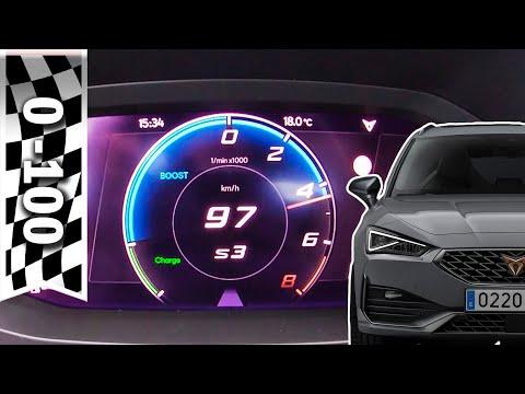 Cupra Leon eHybrid 2021: 0-100 km/h (Elektrisch & Hybrid), Sound / Acceleration 0-60 mph