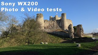 Sony WX200 photo and video test