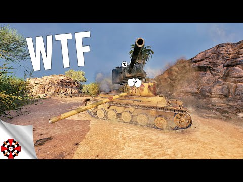 World of Tanks - Funny Moments | WTF MOMENTS! #433 (WoT glitches & RNG)