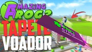 TAPETE VOADOR! - Amazing Frog