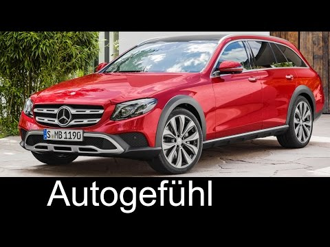 New Mercedes E‑Class All‑Terrain E-Klasse crossover Preview Exterior/Interior