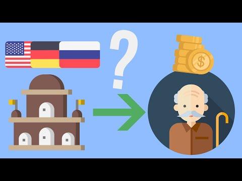 Как появились пенсии ?