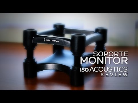 isoAcoustics L8R 155 - Soporte Monitor Review | Revisado Sencillo