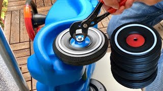 BIG Bobby Car Flüsterreifen / Whisper Wheels montieren
