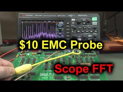 EEVblog #1188 - $10 DIY EMC Probe using Scope FFT